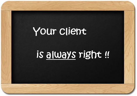 client-always-right